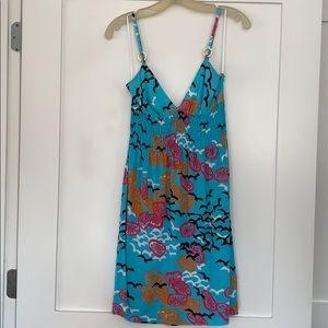Trina Turk Size Small Embellished Strap Dress